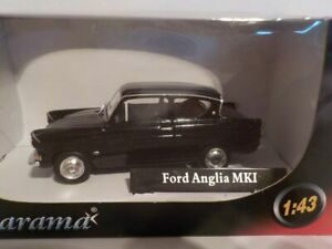 Cake Black Topper, Ford Anglia Model Car Birthday