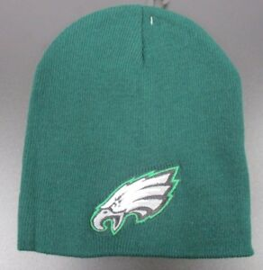 Image is loading Philadelphia-Eagles-Green-Knit-Winter-Hat-Beanie-Style- ed5a26db14a