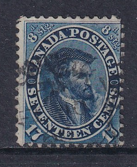 Canada First Cents Issue #19  Used  HICV  No Hidden Faults