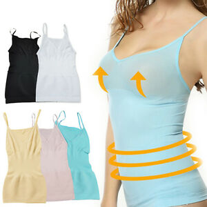abd3939fe Women Slimming Tank Top Tummy Control Seamless Vest Cami Shaper Body ...