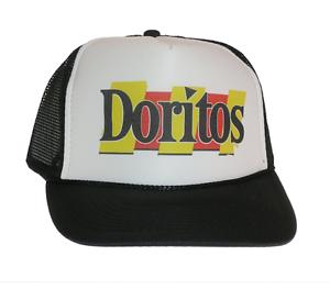 12d9b3d08f0 Image is loading Doritos-chips-hat-Trucker-Hat-Mesh-Hat-black-