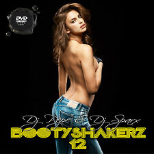 Bootyshakerz Music Video Mix DVD Vol.12 R&B-Hip Hop-House-Bounce-Top 40