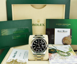 2021-ROLEX-White-Gold-amp-Stainless-Steel-Sky-Dweller-Black-Dial-326934-Sant-Blanc