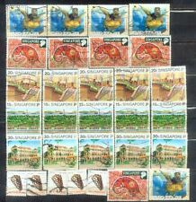 Singapore 5 stamps X 6 Lot  8