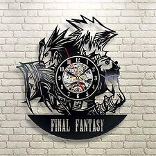 Final Fantasy Game Anime Manga Play Sealed Edition s 2 3 Home Decor Clock