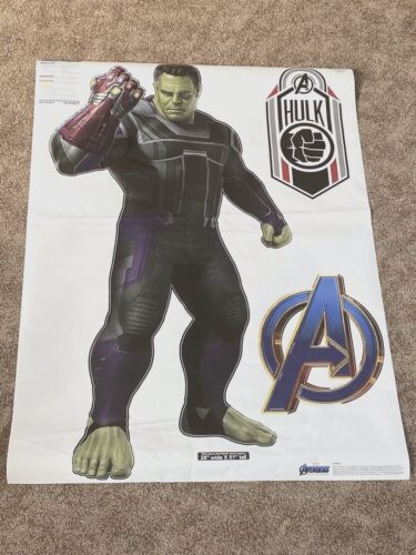 Original FATHEAD Avengers Endgame Hulk  Gauntlet Giant Wall Decal Sticker NEW