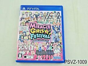 Miracle-Girls-Festival-Japanese-Import-PS-Vita-Sega-Festa-Region-Free-US-Seller