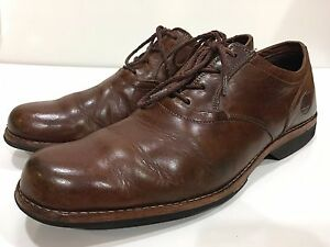 Image is loading Timberland-Earthkeepers-Men-039-s-Brown-Leather-Oxfords- af386a8aea1