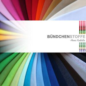 Bündchen Bündchenstoff Schlauchware Uni Jersey Bündchenware glatt einfarbig
