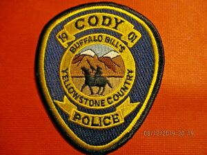CODY POLICE PATCH