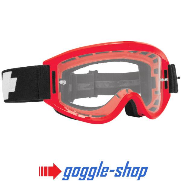 2019 Spy Breakaway Motocross Mx Bike Goggles - Red