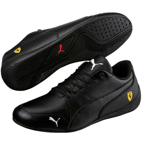 305998 de Shoes 05 Nuevo en Estilo Ferrari Puma Cat Negro 7 Drift hombre Leather caja w0xU1qOYSg
