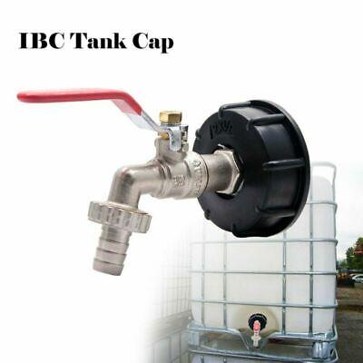 """IBC Adapter Regenwassertank 1//2/"""" Gardena Anschluss für 1000l IBC Wassertank Neu"""