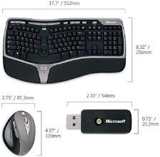 Microsoft Natural Wireless Ergonomic Desktop 7000 WUG-0619 Keyboard and Mouse