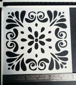 Reusable flowers Stencil Airbrush Art DIY Home Decor Scrapbooking Album Cr LD