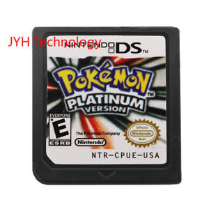 Pokemon-Platinum-Version-Nintendo-DS-2009-Game-Card-For-DS-3DS-Christmas-Gift