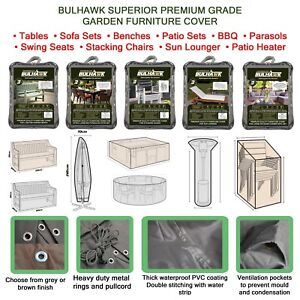 BULHAWK-WATERPROOF-SUPERIOR-QUALITY-GARDEN-OUTDOOR-TABLE-BENCH-FURNITURE-COVER