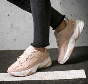 NIKE M2K PARTICLE 8 Details about 5 SUMMIT TEKNO BEIGE PINK PLATFORM WHITE AO3108 202 WOMEN'S by6gf7