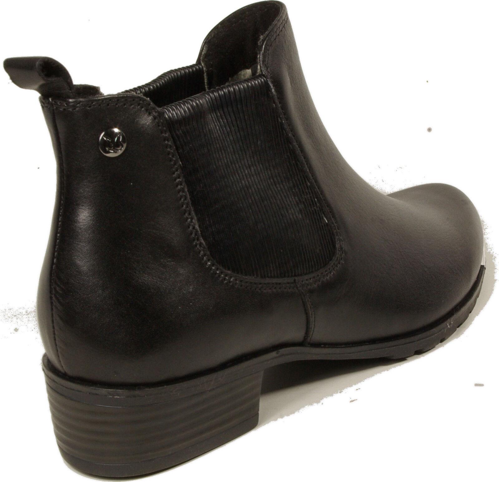 Recortes de precios estacionales, beneficios de zapatos descuento Caprice zapatos de chelsea botas botines negro cuero genuino nuevo 6c3ebd