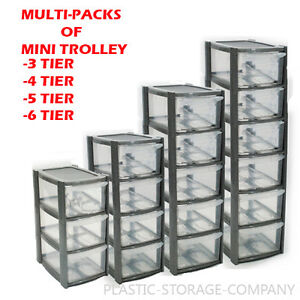 Image Is Loading Plastic Storage Tower Multipacks 3 4 5 6