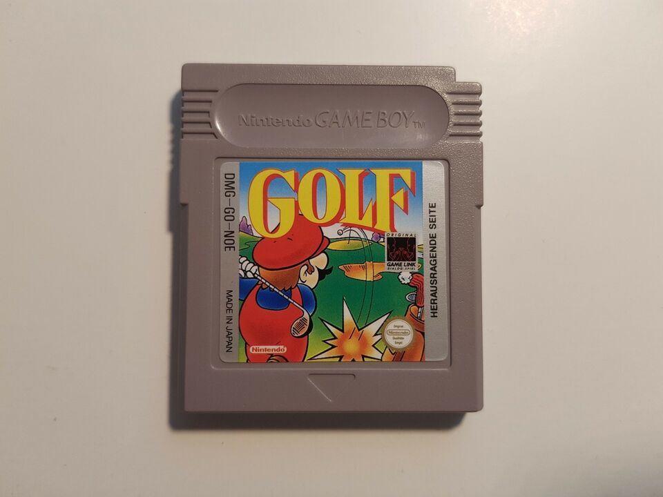 Golf, Gameboy
