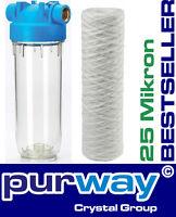 Dp1 Pfa 25 Mcr 5000l/h 3/4 Filtergehäuse Mit Wasserfilter Trinkwasser Vorfilter