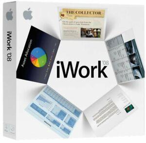 Apple Iwork 08 Pour Mac (ma790z/a)-afficher Le Titre D'origine
