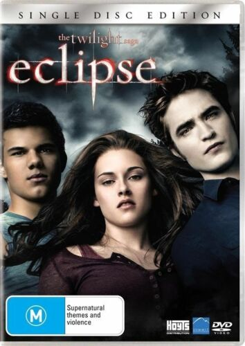 1 of 1 - The Twilight Saga - Eclipse (DVD, 2010) R4 PAL NEW & SEALED FREE POST