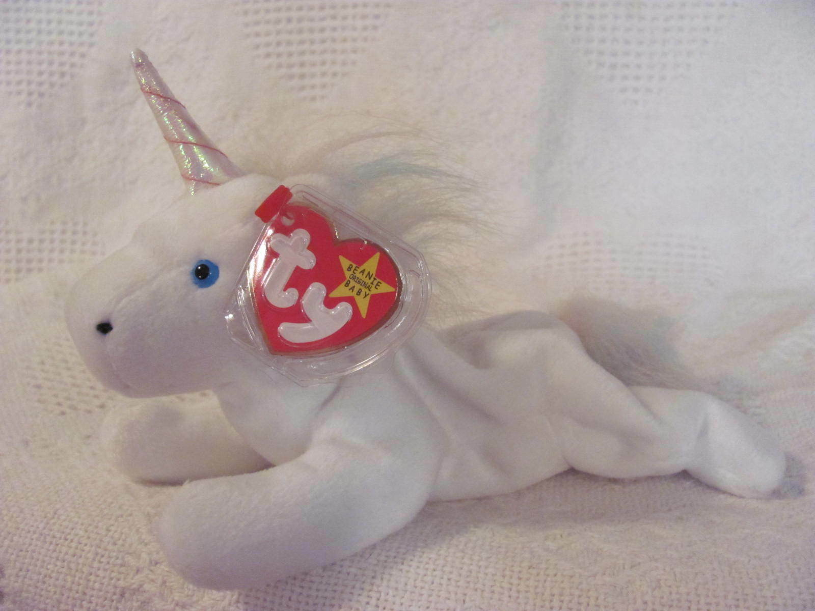TY Beanie Baby    MYSTIC  iridescent horn Retired 5th swing tag 4th tush tag 1993 165fb2
