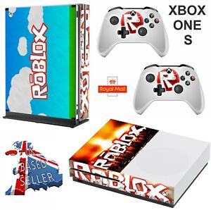 Details about ROBLOX XBOX ONE S (SLIM) *TEXTURED VINYL ! * PROTECTIVE SKIN  DECAL WRAP