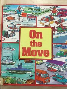 On the Move. My modern world of words. David Gantz.