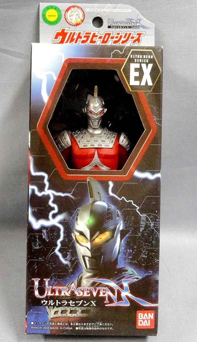 Japan Rare Bandai Ultra Hero Series EX EX EX ULTRASEVEN X PVC Vinyl Figure MISB 0b7d95