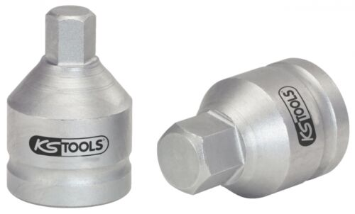 "KS TOOLS 3//4/"" Kraft-Bit-Stecknuss Innensechskant 17mm 515.0002"