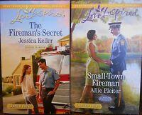 Harlequin Romance Firefighter 2015 Two Pack Paperback Set 511