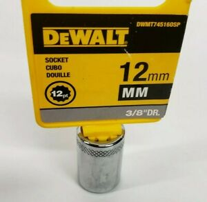 DEWALT DWMT86322OSP 6 Point 3//8 Drive Deep Socket 10MM