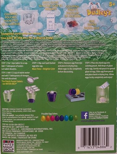 c81 Easter Egg Coloring /& Decorating kits Select Type