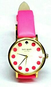 KATE-SPADE-METRO-DOT-1YRU0770-PINK-CHAMPAGNE-ANALOG-DIAL-WOMAN-039-S-WRISTWATCH