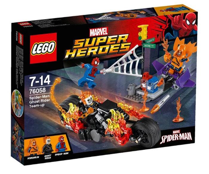 LEGO 76058 MARVEL Super Heroes  Spider-Man: Ghost Rider Team-up (New sealed)