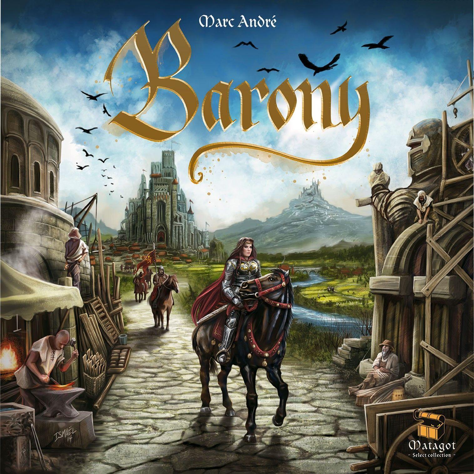 Baronnie, jeu de société, New by Matagot, Multilingue Édition