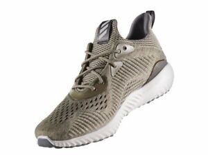 83857a389c941 Image is loading ADIDAS-Alphabounce-EM-Mens-Running-Sneaker-Trace-Olive-