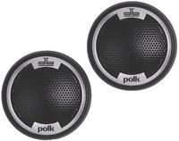 Polk Audio Db1001 1-inch Silk/polymer Composite Dome Tweeters (pair, Black)