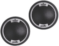 Polk Audio Db1001 1-inch Silk/polymer Composite Dome Tweeters (pair, Black)