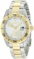 Invicta Women's Pro Diver Silver Heart Dial Two Tone Stainless Steel Watch 12287