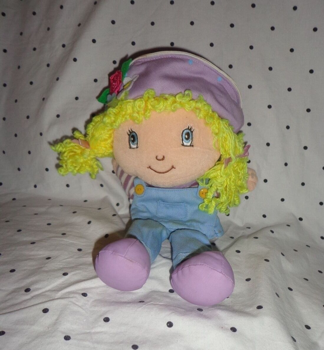 Strawberry Shortcake ANGEL CAKE HAND PUPPET 13  Plush Soft Toy Stuffed