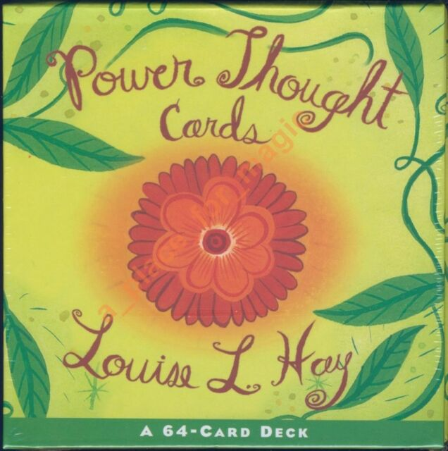 NEW Louise Hay Power Thought Cards Deck