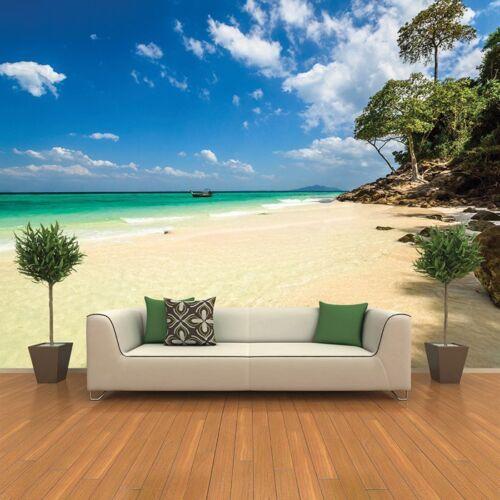 Ocean Beach Wall Mural Thailand Photo Wallpaper Living Room Bedroom Home Decor