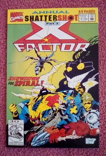 9.2 NM X-Factor Annual #7 May 1992, Marvel