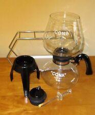 CONA COFFEE MAKER FB103/4 KITCHEN MODEL 3 PT CAP.70`s 80`S + TWIN STAND