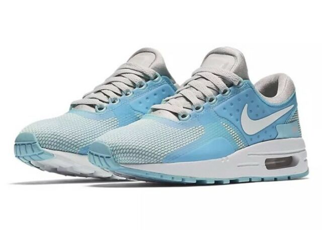 buy online 678a6 f10d8  100 Nike Air Max Zero Essential GS Youth Size 7Y Shoes Blue White 881229-