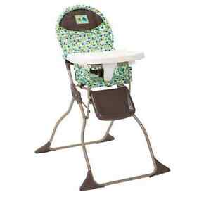 New Baby Toddler Cosco Slim Fold High Chair Seat Booster